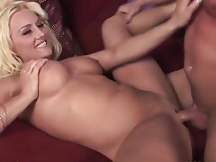 Big Boobs, Blonde, Facial, Mature