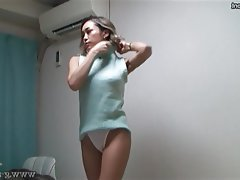 Japanese, Lingerie, Voyeur, Webcam