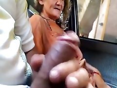Amateur, Granny, Sucking
