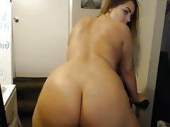 Brunette, Big Butts, Big Boobs, Webcam, Big Booty