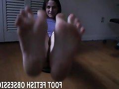 BDSM, Femdom, Foot Fetish, Masturbation