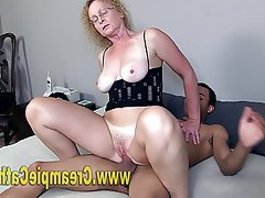 Amateur, Mature, Creampie, Interracial, Mature