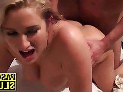 Blonde, Blowjob, Hardcore, MILF, Shower