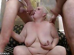 BBW, Cumshot, Hardcore, Mature, Threesome