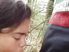 Amateur, Blowjob, Cheating, Doggystyle, Outdoor