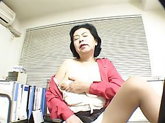 Asian, Granny, Mature
