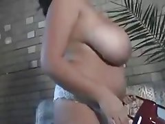 Arab, Big Boobs, Brunette, Softcore