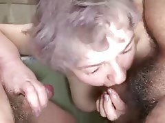 Big Boobs, Granny, Group Sex, Mature