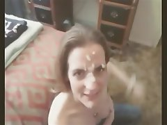 Amateur, Cumshot, Facial, Wife