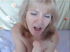 Blonde, Mature, Webcam