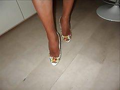 Stockings, Foot Fetish, High Heels, Pantyhose, Erotic