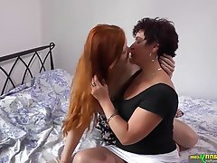 With you Mature lesbian grannies kissing