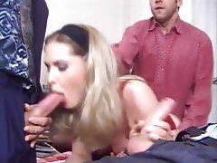 Double Penetration, Facial, Group Sex