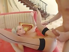 Big Cock, Facial, Granny, Stockings, Mature