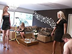 Blonde, Foot Fetish, Femdom, Mistress, BDSM
