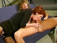 Cum in mouth, Granny, Handjob, MILF