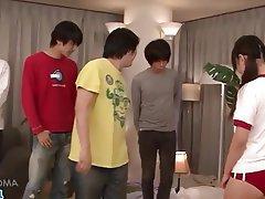 Asian, Blowjob, Facial, Group Sex, Japanese