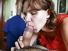 Amateur, Blowjob, Cum in mouth, Russian, Wife