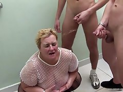 Group Sex, Granny, Mature, BBW, Old and Young