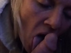 Amateur, Blonde, Blowjob, Close Up, Homemade