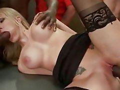 Amateur, Blonde, Double Penetration, Facial