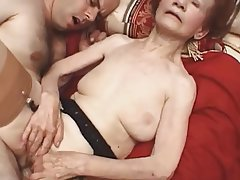 Granny, Mature, Pornstar, Stockings