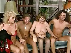 Granny, Pornstar, Stockings, Group Sex