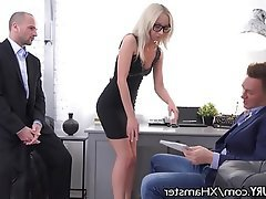 Anal, Blonde, Double Penetration, Threesome, Skinny