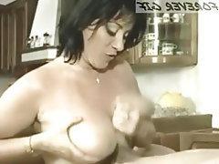 Mature, Pornstar, Handjob, French