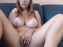 Amateur, Big Boobs, Big Nipples, Dildo