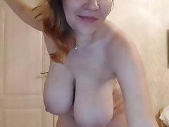 Webcam, Mature, Big Boobs, Russian, Big Tits