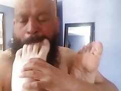 Interracial, Foot Fetish, Footjob