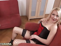 Anal, Stockings, Bisexual, Cum in mouth, Threesome
