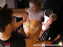 Blowjob, Facial, Bukkake, Gangbang, German