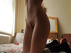 Anal, Brunette, Small Tits, Orgasm, Skinny