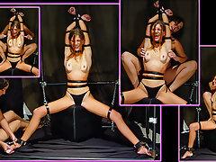 BDSM, Redhead, Bisexual, Bondage, Skinny