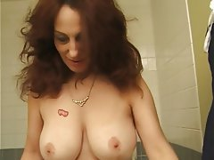 Big Boobs, Brunette, Granny, Mature