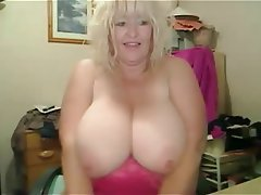 tits mature huge Amateur bbw