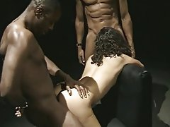 Anal, Blowjob, Facial, Threesome, Interracial