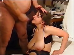 Big black mature women booty shanking