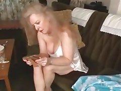 Granny, Hairy, Masturbation