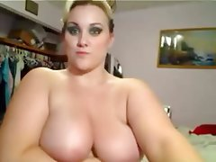 Amateur, BBW, Big Boobs, Blonde, Webcam