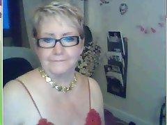 Amateur, French, Granny, Webcam