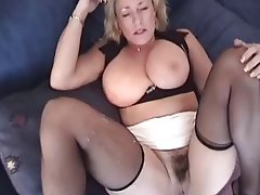 tits Amateur big mature blonde