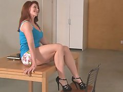 Redhead, Mature, Mature, Mature, Homemade, Blowjob