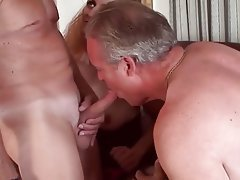 Granny bisexual sex