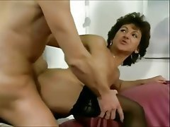 Sexy german mature well fucked