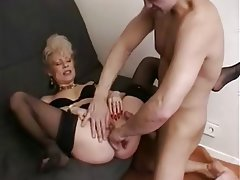 Blowjob, French, Granny, Mature