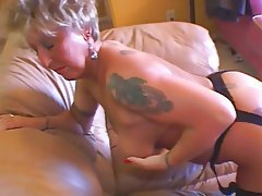 Granny, Masturbation, Mature, Stockings