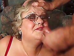 Mature older big titted women
